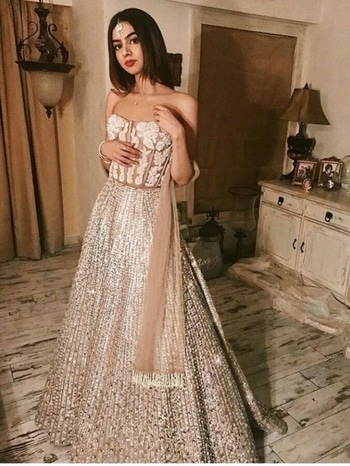 Fill your wardrobe with amazing outfits like the stunning fashionista Khushi Kapoor. Read more: https://goo.gl/GZnemw Grab your fabric at : https://fabcouture.in/ #FabCouture! #DesignerFabric at #AffordablePrices  #DesignerDresses #Fabric #Fashion #DesignerWear #ModernWomen #DesiLook #Embroidered #WeddingFashion #EthnicAttire #WesternLook #affordablefashion #GreatDesignsStartwithGreatFabrics #LightnBrightColors #StandApartfromtheCrowd #EmbroideredFabrics