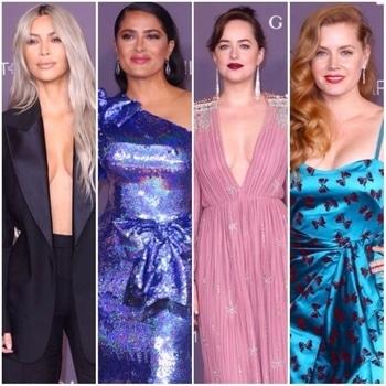 Kim Kardashian, Salma Hayek, Dakota Johnson: All the noteworthy looks from LACMA 2017 Art & Film gala red carpet. . . . . . . #international #internationalfashion #be-fashionable #roposofasion #celebritymakeup #celebrities #hollywoodcelebrities #inspiration