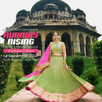 Exclusive winter edition of #RunwayRising on #14thDecember at Hyatt Regency, Delhi.   Make you wishlist longer with this stunning ensemble by RANG by #ManjulaSoni.  Find their picks at #RunwayRising and make your way to the new season. For more enquiries call on +91 95990-01684  #savethedate #shoppersdelight #exhibitiondiaries #hyatt-regency #onedayofshopping #fashionandlifestyleexhibition