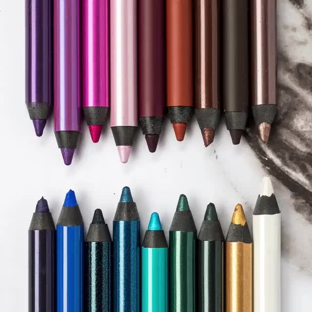 #Urbandecay. #24/7 glide on pencil. when your 24/7 glide- on eye pencil is as excited as you are to create colourful look:-D