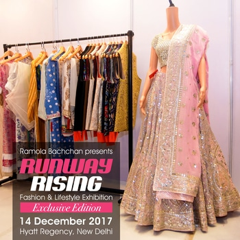 Have a wedding coming up? Looking for latest fashion? Shopping for your trousseau? Want to know what latest ethnic wear collection looks like?   You'll find all your answers at #Hyatt-Regency on #14thDecember 2017 as Ramola Bachchan presents Exclusive Winter Edition of #RunwayRising   Visit us and shop beautiful Indian wear only at #RunwayRising   #weddingshopping #trousseauwear #exclusivecollection #exhibition #latestfashion #designerwear #visitus