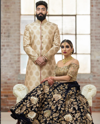 Our Client Alpana Of Fremont ,California, In Her Wedding Lehenga