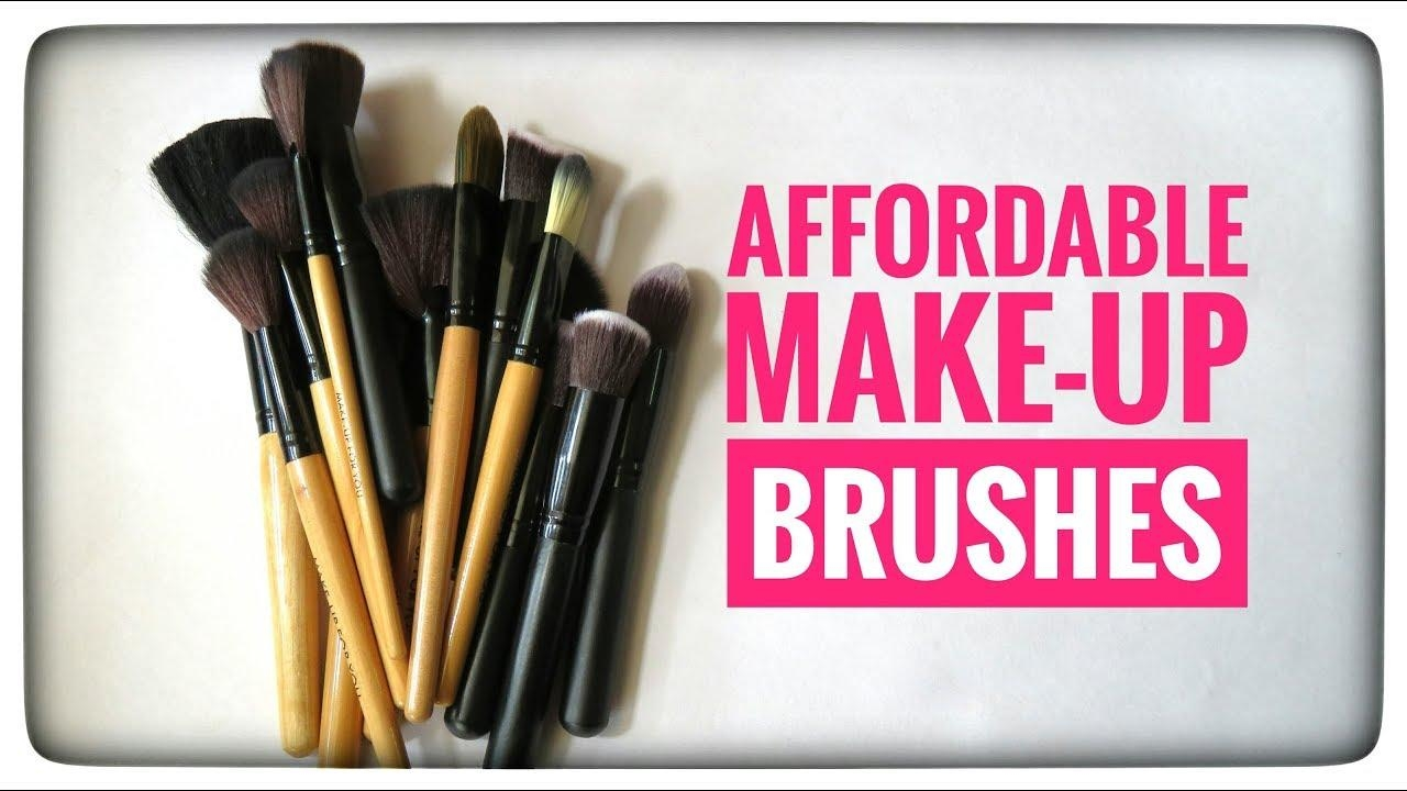 Affordable Makeup Brushes For Beginners | omnistyles
