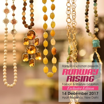 Love to accessorize your outfit? Find the prettiest accessories at exclusive edition of #RunwayRising on #14thDecember 2017 at Hyatt Regency,New Delhi.    Latest trends in pret & couture fashion, jewellery, accessories, gifting, home decor and much more under one roof.  For enquiries call on +91 95990-01684  #accessorieslove #latestfashion #styleyouroutfit #jewellery #exhibitionlover #savethedate #visitus