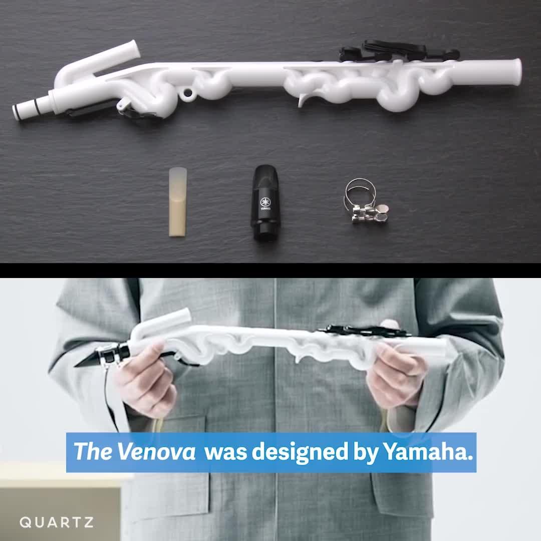 #saxophone #invention #recorder #hybrid #cool via Quartz