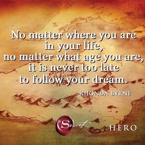 Follow your dreams for life is too short!  #qotd #wordpower #wisewords #thesecret #quotes #mantras
