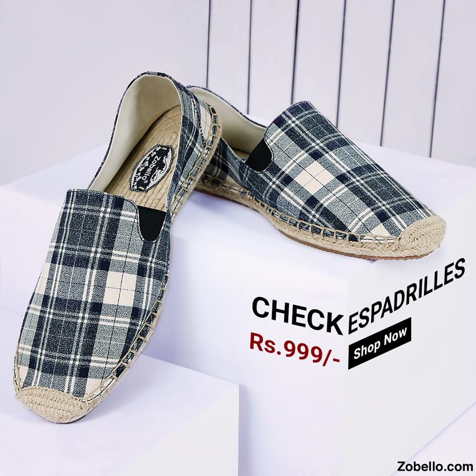 Check loafers to give your jeans a stylish ending. Shop @https://goo.gl/SVRhgJ  #zobelloclothing#menswear#fashion#shopping #shoes#espadrilles