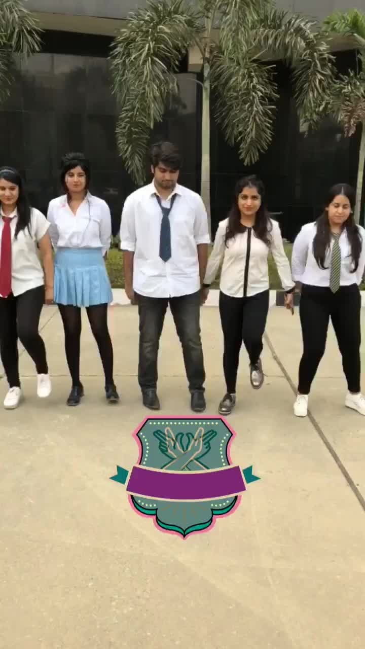@roposotalks now is in their next PT period. Uniform checks, punishments, exercise! We have it all. #ChildrensDay #Roposo #TVByThePeople  Have you seen our cool stickers! 😎 #squad