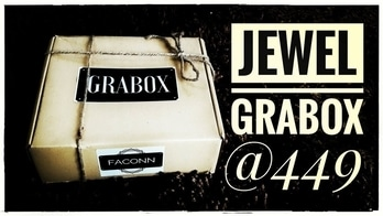 *New* Jewel Grabox @449 | 10% Discount code | Unboxing & Review | *Giveaway open*  Grabox is a Brand New Subscription Box launched by Faconn. I have done an unboxing & Review of their November Jewel Grabox on my channel. It is priced at Rs. 449 and contains 6 pcs of jewellery. The quality and finishing of all the jewellery pieces is great. I was very impressed with the Packaging and the Curation as it contained a wide variety. It is surely one of the best affordable jewellery subscription boxes in Indian market today! You can get the box at Rs. 404 by using the coupon code mentioned below. 💍 Please watch the full unboxing and review video on my channel now to know more details 👍😍Link in bio! 💍 To Order the Box : http://faconn.com/product/jewel-box/ Instagram DM : https://www.instagram.com/thefaconn/ Price : Rs. 404 + 50 for shipping (After Discount) DISCOUNT CODE FOR 10% OFF - SONJ10 Now Pay via Paytm also! 💍 #grabox #newsubscription #jewellerysubscription #earrings #ring #neckpiece #choker #nosepin #newlaunch #november #affordable #budgetfriendlybox #discoveringsubscriptions #unboxingandreview #subscriptionboxreview #subscriptionboxindia #youtuber #sonammahapatra