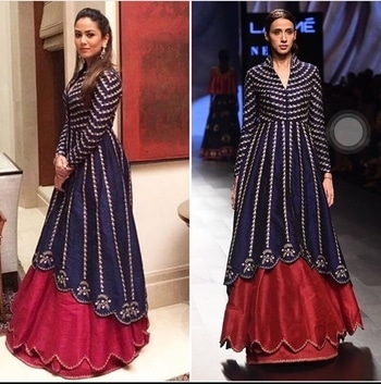 Celebrity Mira Rajput Kapoor is looking elegant in Nachiket Barve 's THEIA LFW-17 Winter Festive collection. Do drop by at Deval The Multi Designer Store to look at his latest collection for the modern weddings for brides and bridesmaids!! For more details please call us +91 98984 22000 #stylish #designerwear #designercollection #garments #clothing #womenswear #multidesignerstore #designeraccessories #dresses #skds #kurtas #devalstore #ahmedabad #newcollection #latestcollection #devalthemultidesignerstore #luxurydesigner