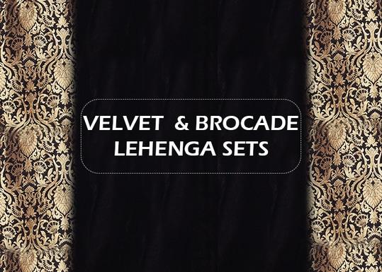 New Arrivals - Velvet & Brocade!  http://bit.ly/2ullAWr  #9rasa #studiorasa #ethnicwear #ethniclook #fusionfashion #online #fashion #velvet #trendy #styles #lehenga #brocade