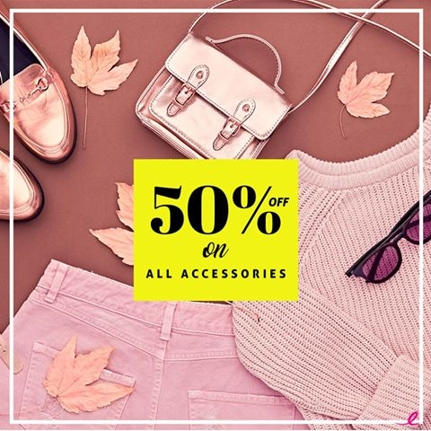 Are you excited yet ? Shop here--> https://goo.gl/YC5w11  #shoponline #accessories #50%OFF #discountoffers #shoppingoffer #essentials #outfitbasics #accessorize