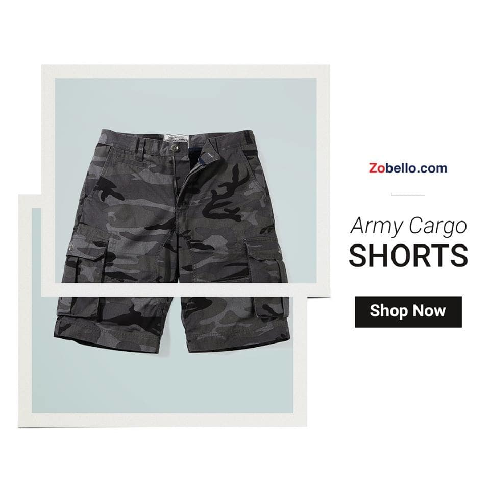 Go commando in style in these twill cotton camouflage cargo shorts for men. Shop at: https://goo.gl/YaGbWl  https://goo.gl/AcJ5t9