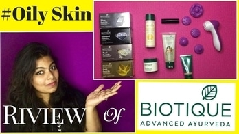 BIOTIQUE for Oily Skin People || Affordable Product || Skincare Routine For Oily Skin  #skincare #oilyskin #biotique #makeup #eyes #eye-makeup #youtubechannel