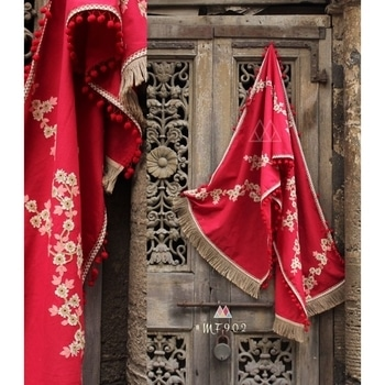 Embroidered Red Khadi Cotton Stole - Mf902  SHOP NOW : http://bit.ly/2jzOyhT  #goodvibes #oldschool #aapsundarho #ilovewinters #art #indianblogger #padmavati #cool #gajab #bachpan #desiswag #desi #model #bollywood #90skid #blackisbae #roposolove #fashionblogger #fashion #beats #voteforme #styles #blogger #beauty #roposogal #love #photography #newdp #shaamkascene #indian #fleaffair #stole #designerstole