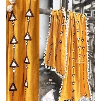 Embroidered Yellow Khadi Cotton Stole - Mf906  SHOP NOW : http://bit.ly/2ipsqUe  #goodvibes #oldschool #aapsundarho #ilovewinters #art #indianblogger #padmavati #cool #gajab #bachpan #desiswag #desi #model #bollywood #90skid #blackisbae #roposolove #fashionblogger #fashion #beats #voteforme #styles #blogger #beauty #roposogal #love #photography #newdp #shaamkascene #indian #fleaffair #stole
