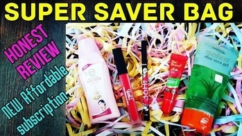*New* Super Saver Bag | Honest Review | Affordable Subscription @450 | Unboxing Nov Bag | *Giveaway*  Super Saver Bag is a Brand New Affordable Beauty Subscription Bag launched in India. The November launch Edition is priced at Rs. 450 including shipping and consists of 5 full sized products, 3 skincare from known affordable Brands and 2 essential makeup products.  💰 I have done an unboxing and shared my honest review on the box on my channel. Please watch it to know more 👍Link in bio! 💰 To order : Facebook : https://www.facebook.com/Super-Saver-Bag-1950245061901804/ Or Whatsapp : 8820161670 Or Email : subscriptionboxkolkata@gmail.com Mode of Payment : BHIM app / Paytm / Bank transfer  NO COD 💰 #supersaverbag #newsubscription #subscriptionboxindia #affordable #beautysubscription #skincare #organic #makeup #fullsized #newlaunch #subscriptionboxreview #beautybox #discoveringsubscriptions #unboxingandreview #honestreviews #youtuber #sonammahapatra