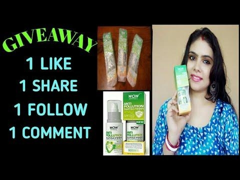 SURPRISE GIVEAWAY FOR UMA VLOGS FAMILY, 3 WINNERS(OPEN)#umavlogs #giveaway #buywow  #sunscreen