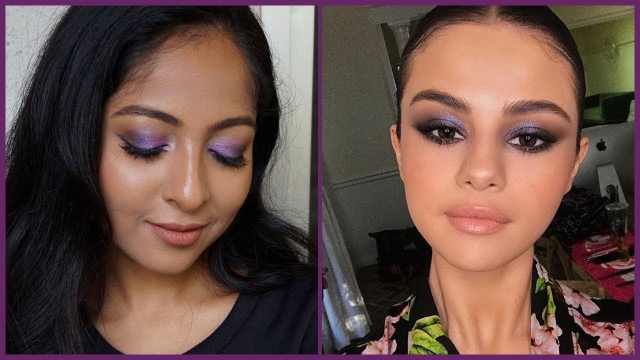 Simple purple smokey eyes 😊 #roposotalenthunt #roposo #soroposo #bblogger #video #videotutorial #makeuplook #selenagomez #eye-makeup #youtubevideo #pune #puneblogger