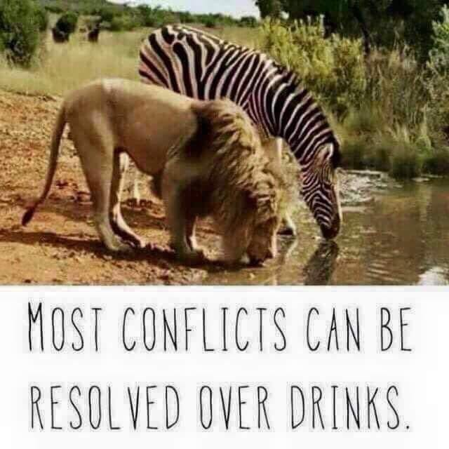 #instaquote #instaday #conflicts #resolveoverdrink