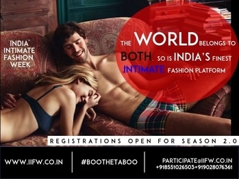 The World belongs to both, so is India's finest & the largest Intimate / Beach / Sports - Active Wear Platform , IIFW.   Participate. Tie-up. Sponsor. Join us at IIFW's Season 2.0 in the Early Summer of 2018.  Contact Us to discuss India Inquiries : +918551026503 /+919028076361 GCC-Africa Inquiries : +971501578611 / business@iifw.co.in / iifw2016@gmail.com #IIFW #IIFWIndia #IndiaIntimateFashionWeek #IIFWSeason2 #PlusSizeLingerie #Lingerie #IntimateFashion #BeachWear #SwimWear #BooTheTaboo #ActiveWear #LoungeWear #IndiasFirstEver #LingerieExhibition #IntimateFashion #YogaWear #ShapeWear #ActiveWear #LegWear #Sportslingerie #LingerieManufacturers #BridalLingerie #LingerieDesigners #LingerieECommerce #Buyers #ChineseLingerie #EuropeanLingerie #SrilankanLingerie #Top10IndianFashionWeeks