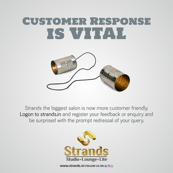 #Strands is now more closer to its valued customers. Now you can log in your feedback or post an query on the #website strands.in. Your #response will be attended and responded warmly and promptly. #roposo  #feedback #chandigarh