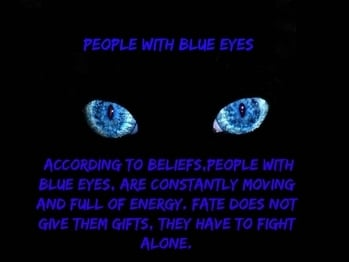 People with blue eyes  #blueeyes #blue #colors #superstition