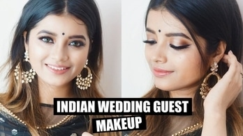Gold Indian Wedding Guest Makeup with One Special TRICK !!! #shwetamb #indianweddingbuzz #indianwedding #indianweddingmakeup #weddingmakeup #weddingseason #indianmakeup