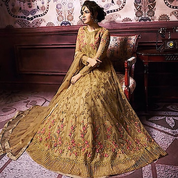 Golden Net And Sayin Bamglori Anarkali Suit  Product code - FCSS1923 Available at www.fashionclozet.com  Watsapp - +91 9930777376 Email -  info@fashionclozet.com Or DM for enquiries. #indianwear #indianfashion #indianwedding #instagram #adorable #beautiful #bollywood #makeup #mumbai #indianstyle #palazzo #punjabisuits #indowestern #bridalsarees #palazzopants #designerwear #saree #punjabiweddings  ##palazzoskirt #blogger #fashionblogger #weddingphotography #vancouverwedding #weddingphotographer #indianweddingbuzz #bridallehengas  #bridesmaids  #saree #gharara