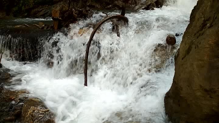 #waterfall #kheerganga #trecking #waterriver