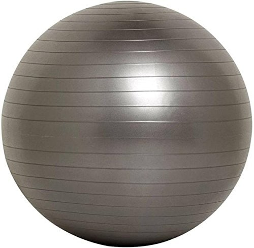Instafit PVC Grey 75 cm Gym Ball  #ball #yogaball #gymball #gymaccessories #gymgears #indian #healthproducts #roposo #followme #trendy  *Price Rs. 699 *Link https://www.amazon.in/dp/B0778JMYWG
