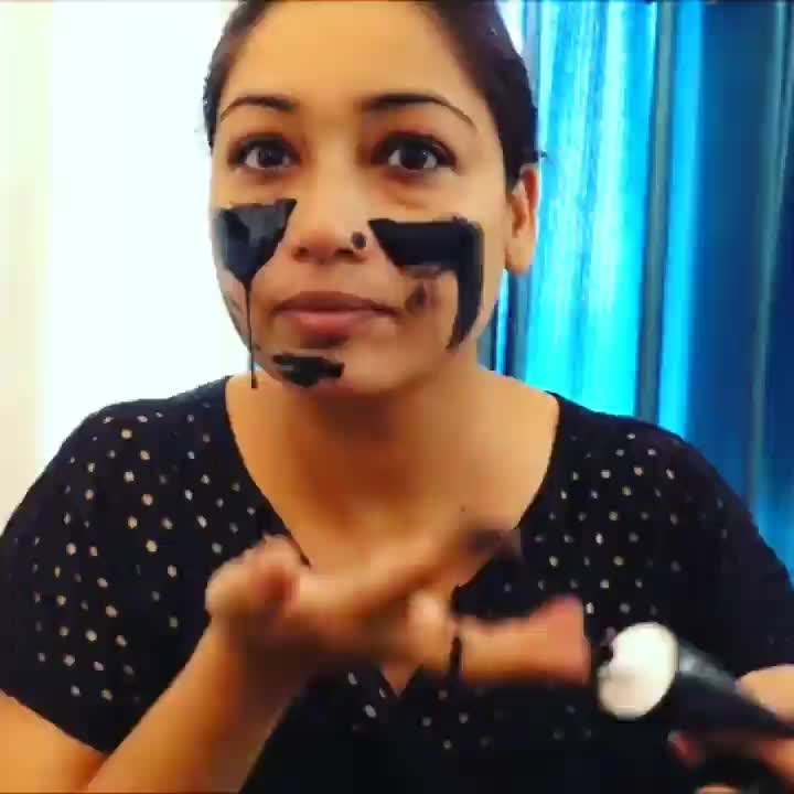 #roposotalenthunt Say Goodbye to Blackheads with the Charcoal Activated Face Mask by @healthvit  #blackheadremover #blackheadsremover #blackheadkiller #blackheadremoverserum #blackheadremovalserum #cleanskin
