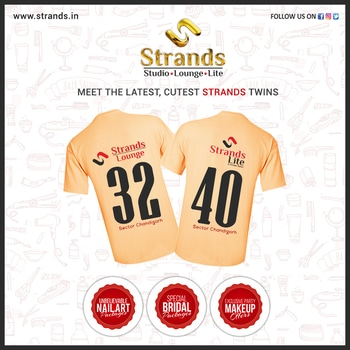 #Strands the biggest #salon chain just got bigger...2 new outlets in #Chandigarh are #ready to serve #beautiful people of the #city with enhanced #services and offerings. http://www.strands.in  #roposo  #chandigarh  #salon #ready #server #rosopofashion #makeup  #sale