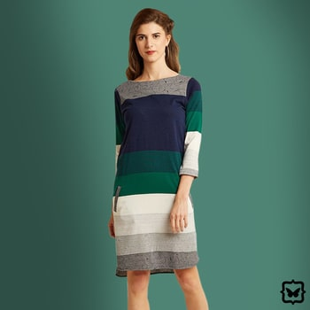 We're lovin' our stripes this Winter! Our Stripe Her Down Shift Dress is a must have this season, because you can wear it anywhere.   Shop on http://bit.ly/2ioVbDV   #soroposo #onlineshopping #shopping #colour #shoppingtips #fashion #fashiontips #photooftheday #trendy #musthave #nowtrending #stylish #blogger #love #follow #fashionblogger #styleblogger #awesome #ootd #potd #ruffletop #summerstyle #summer #Winter