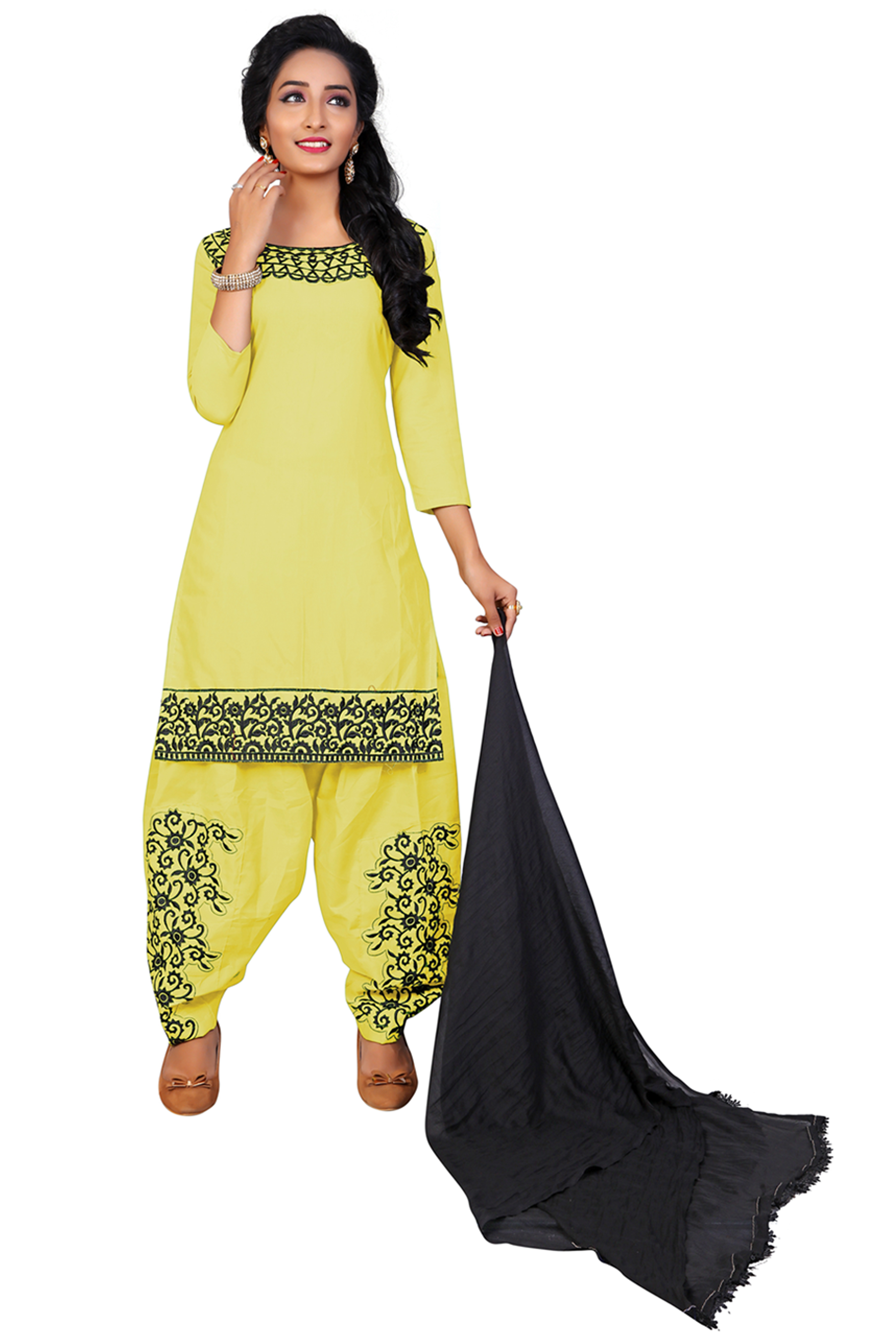 Style:- light yellow patilal  #Fantastic Top, Bottom and Dupatta. #super Top, Inner and Dupatta. #fabulous Exclusively Newly Designed Product.Semi-stitched patiala salwar suit #marvelous Occasion Evening Wear, Party Wear, Casual Wear  price:- 449/-  Contact for call and whatapp : 99243644307 Piyush Dhameliya