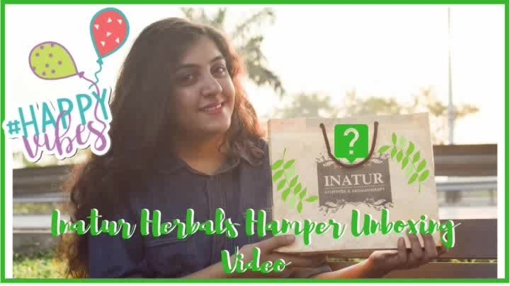 Want to know about what organic and natural goodness I received in my Inatur Herbals hamper?   Then watch my new YouTube video👉  Subscribe to make my day 😄. https://youtu.be/wbVJIwoVX9E  #inaturherbals #organicskincare #naturalskincare #skincare #rawsheabutter #repost  #nowrinkles #antiacne #naturalfacial #naturalbeauty #Youtubecreator #indianyoutuber #greenbblogger #unboxing #crueltyfree #dermatology #natural #golden #glowingskin #antiaging #healthyskin #vegan #cosmetic #greenskincare #skincareroutine #indianskincare #skinexperts  #beauty  #indianmakeupblogger #indianstyleblogger #roposotalenthunt #happyvibes