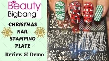 BeautyBigBang15 Christmas Nail Stamping Plate   Review & Demo   Designyournailsbyisha #designyournailsbyisha #ishanailart #beautybigbangnailart #beautybigbang #2017christmasnails #productreview #nailproductreviewnaddemo #ZHSP0248 #nailstampingplate #xmasstampingplate #beautybigbangstampingplate #stampingplatereview #naildesign #nails #christmasstampingplate #candynailart #2017xmasnails #xmasnailart #nailart #christmasnailart #soroposo #santanailart #merrychristmas #nailartwow #roposonails #notd #roposoblogger #roposofashion #nailfashion  IG:design_your_nails_by_isha❤️