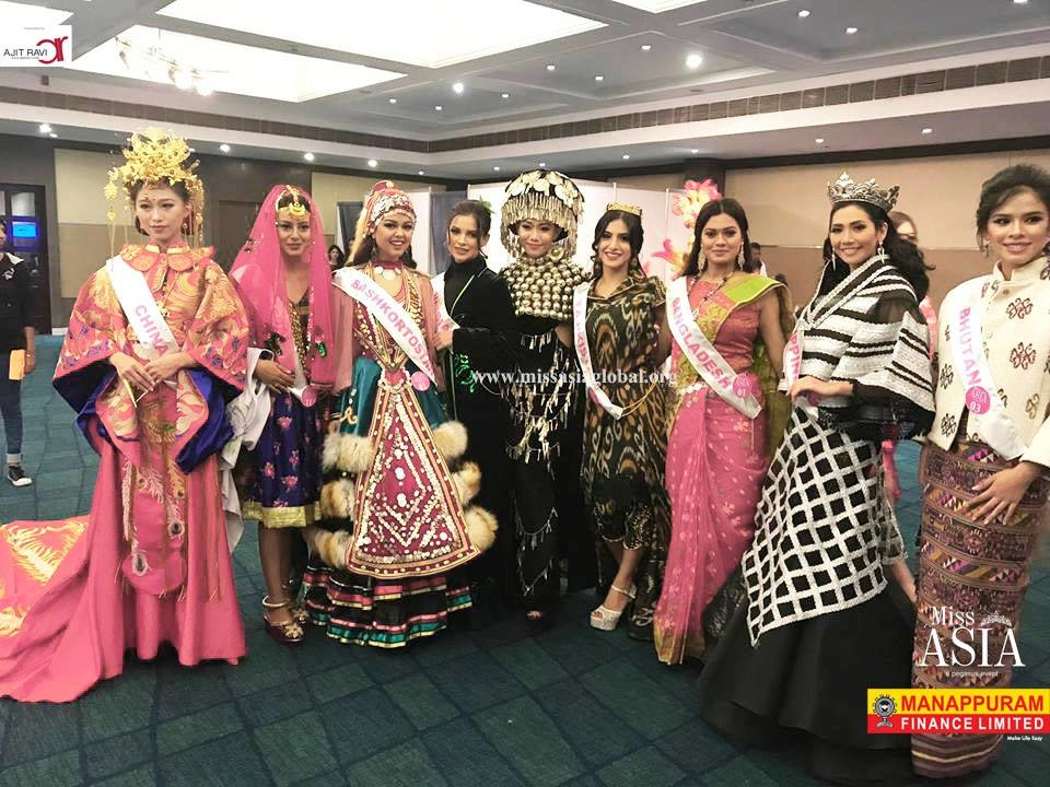 Ajit Ravi presents #Miss_Asia2K17 #Ajit_Ravi_Pegasus_Event #contestants  #Manappuram_Finance_Ltd #Manappuram_Miss_Asia  :) :)