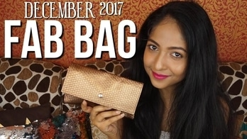Watch my video on youtube 😊 #fabbag #fabbagsubscription #makeup #bblogger #beautyblogger #review #unboxingandreview #beautysubscriptionbag #puneblogger #pune