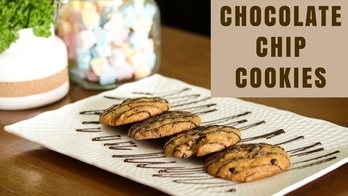 Always wondered how do they make such chewy chocolate chip cookie which is soft from inside and chewy from outside; melting in your mouth, as if just can't stop at one. Presenting an easy step by step recipe for eggless chocolate chip cookies. 💋💋💋 Love M. #ChefMeghna #ChocoChipCookies #chocolate #Chip #Cookies #Eggless