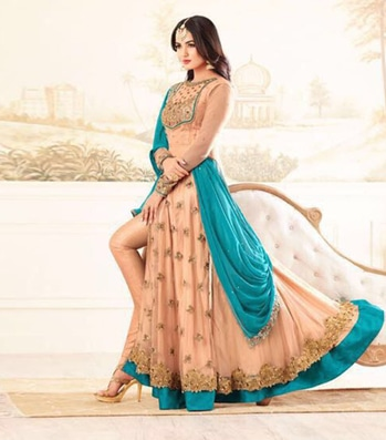 shop now over latest design visite to www.zeelshops.com and  contact to this number 9924430008 or whatsapp  https://www.zeelshops.com/shop.php?pid=701&pname=Beige-Color-Net-Embroidery-Semi-Stitched-Salwar-Suits #roposo #roposogal #yellowdress #glamourgurl #chaniyacholi #ghagracholi #indianwear #fashion #trand #cultures #indian #womenwear #weddingwear #ethnic #closet #clothes #indian #beautifulbride