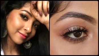Watch it on youtube please!! 😊 #makeup #makeuptutorial #goldmakeup #weddingmakeup #partymakeup #easymakeup #youtube #indianblogger #pune #video #videotutorial