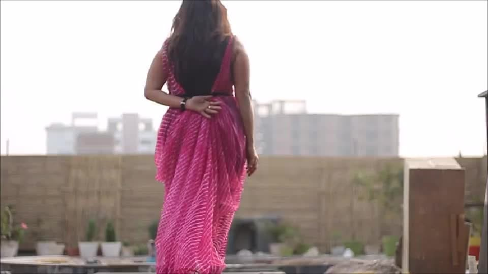 """Don't change yourself to fit the fashion Change the fashion to fit you :) Draped this old saree as a dress on my spaghetti top and jeggings.  FAB or DRAB?? . . .Check out the tutorial on my blog..""""link is in the bio"""" #mondaymusings #styled #stylista #saree #drapes #sareestyle #sareestory #sareesaga #sareeblouse #sareeandme #sarees #sareeswag #sareelove #sareetime #sareetrends #styleblogger #stylesh #fashionbloggerindia #fashionstyle #fashionmodel #40plustyle #40plusstyleblogger #over40style #blackandpink #leheriya #belts #shiwangistyles #sareediaries"""