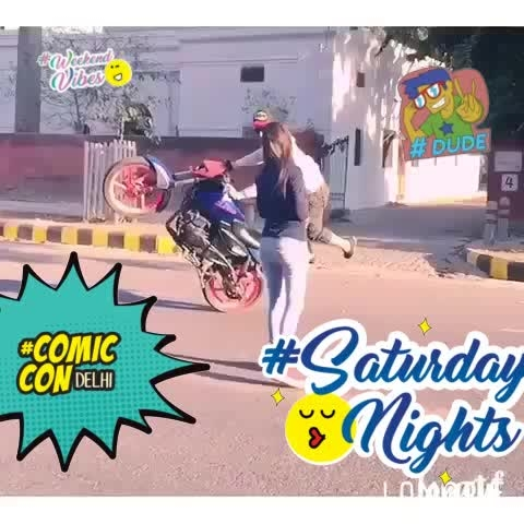 #roposobikelover #comiccon #dude #saturdaynights #weekendvibes