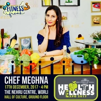Hey Mumbaikars, We have a date on 17th Dec. 4 pm at The Nehru Centre, Worli, Mumbai-Ground Floor, Hall of Culture. Let's talk at The Times Of India Health & Wellness Seminar. It's free. You can register on www.timeshealthshow.com or can come to the venue and register 💋Love M. #ChefMeghna #Health #fitness #TimesHealthWellness #ItsNeverTooLate #timeshealthshow #TimesOfIndia  @times.health @thetimesofindia #talk #speech #fitnessfreak