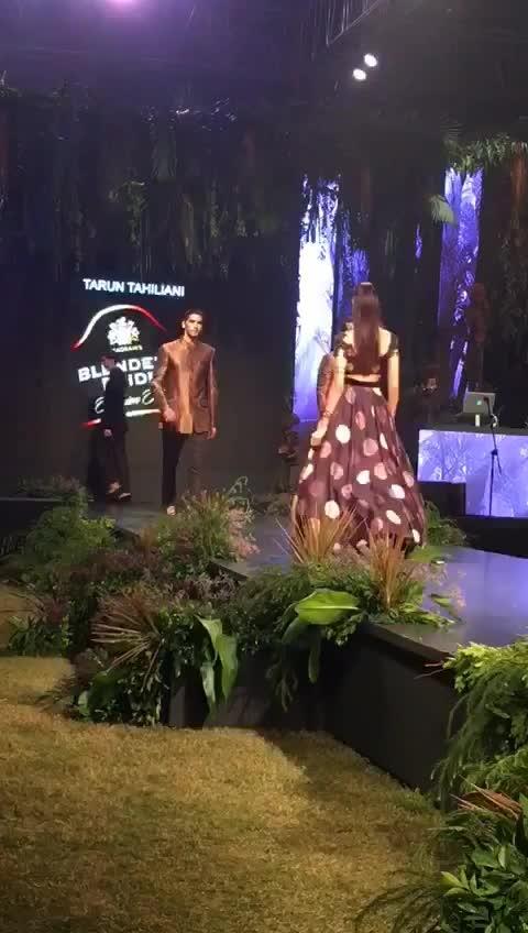 Blenders pride fashion tour @taruntahilliani
