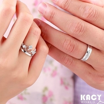KACY's Crown and Cross Couple Ring Just For INR 399/- Free Shipping, Cod Available Shop Here : https://kacyworld.com/product/couple-rings-set/ #newarrivals #kacyworld #kacy #kacyjewelery #couplerings #couplering #rings #buynow