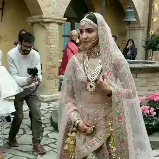 The love birds finally got hitched together <3 . .Bride Anushka Sharma is looking stunningly gorgeous in her #sabhyasachi outfit and virat #thegroom is looking equally stunning in his #sabhyasachisherwani We wish them a very happy married life and loads of love, happiness and togetherness.. #Virushka #viratkohli #anushkasharma #viratwedsanushka #bollywoodlove #love #wedding #sports #championstrophy #virat #kohli #indian #shadi #bollywoodshadi #viratkishadi #kohlikishadi #anushkawedsvirat