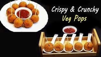Enjoy Tea Time Snack of Super Crispy Veg Pops .. #ropo-good #roposo #ropo #ropo-love #food #foodiesofindia #fooding #foodtalkindia #recipes #recipeoftheday #recipe