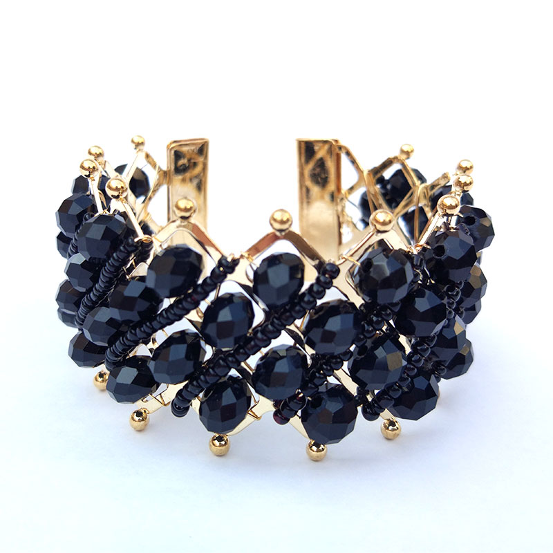 Elevate your wrist game with this Stunning #Black #Crystal #Bracelet. Order Now @ https://buff.ly/2BzSiYy #jewelry #fashion #accessories #instajewelry #beautiful #love #fashionjewelry #WomenBracelet #picoftheday #instamood #instalove #fashion #Braceletonline #Braceletshopping #stayclassy #womensjewelry #instafashion #womensfashion #dailyfashion #womensaccessories #Fashioncrab 💝